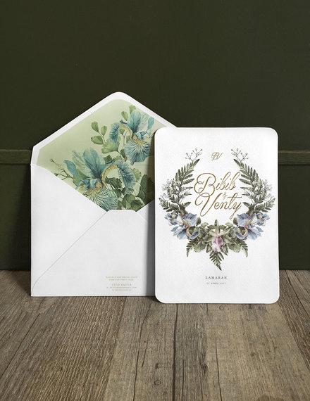 engagement invitation design sample