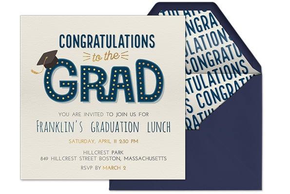 evitecongratstothegradgraduationinvitation
