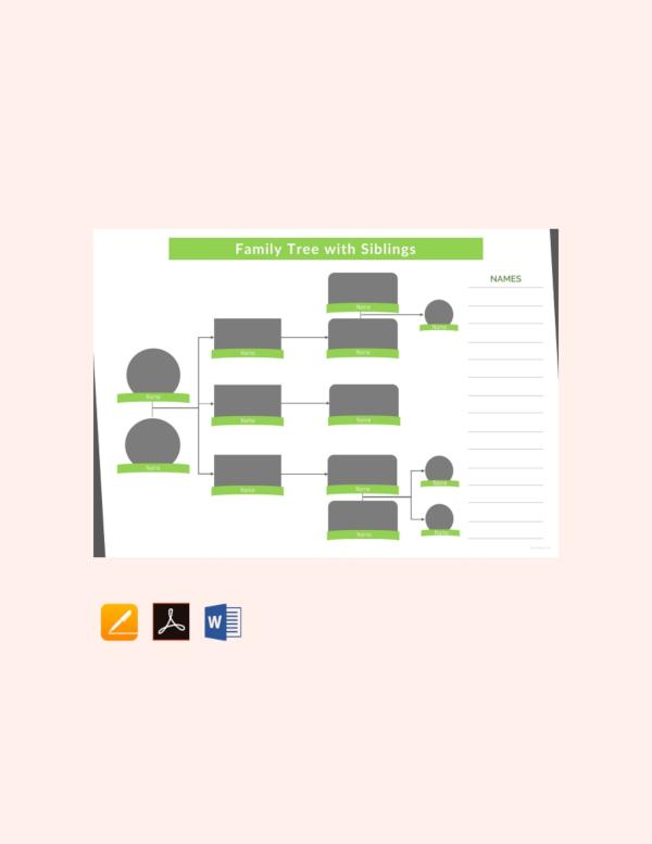 37  family tree templates