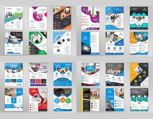flyer design inspiration template