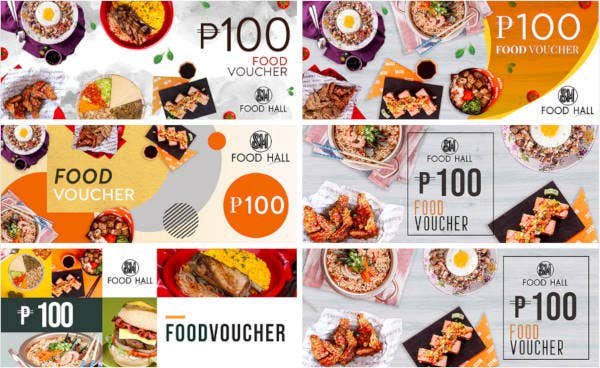 Food Promo Voucher Template