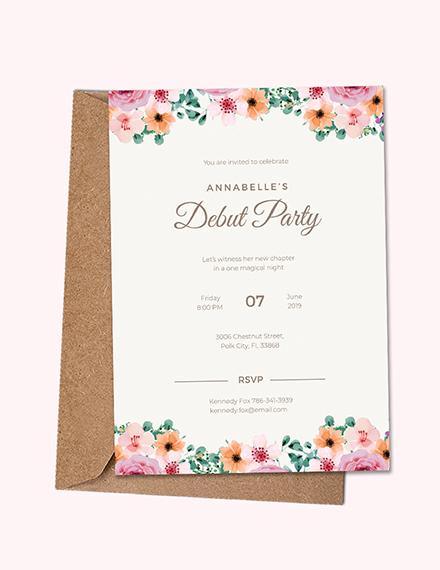 10 18th birthday party invitation templates free premium templates