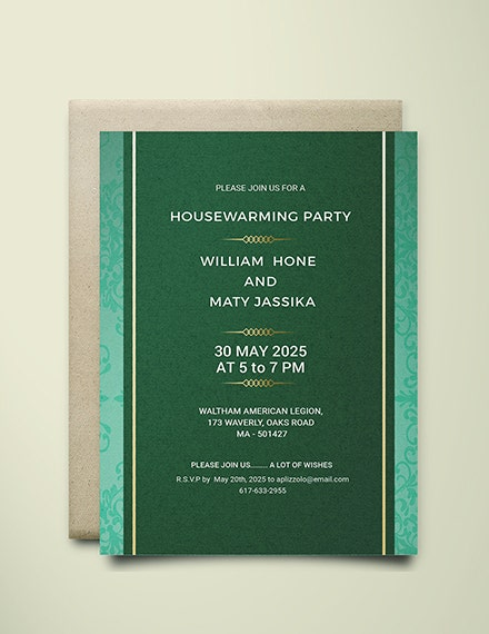 formal housewarming party invitation example