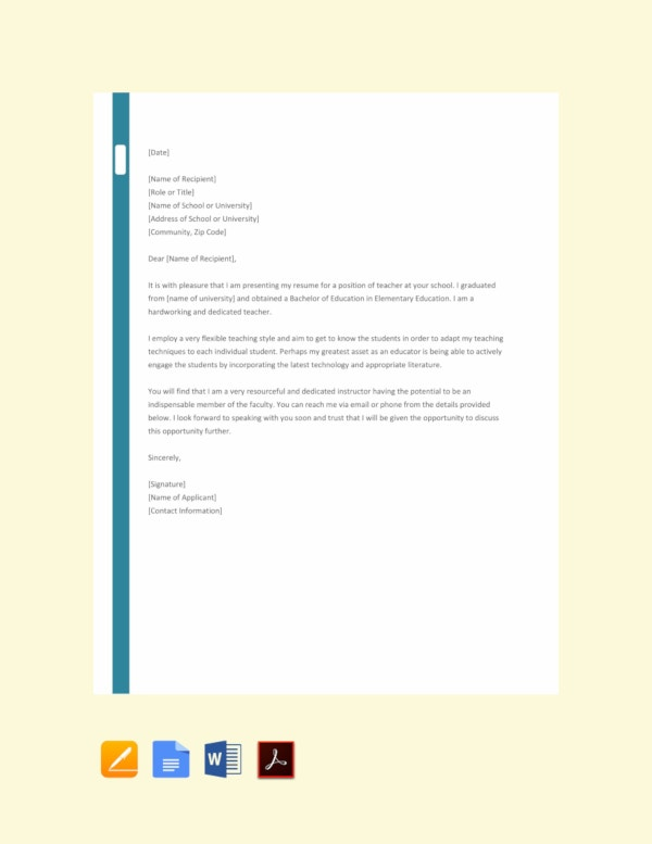 45+ Job Application Letters in PDF | Free & Premium Templates