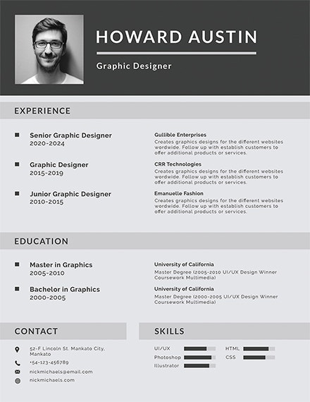 free basic resume template1
