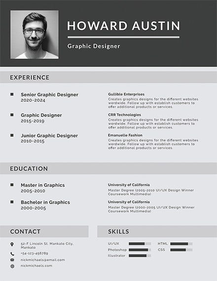 free basic resume template2