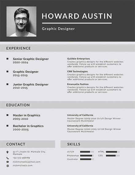 free basic resume template2