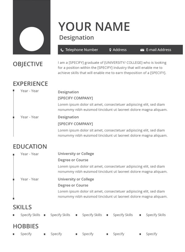35  sample cv templates