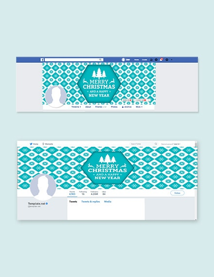 32 christmas facebook covers psd free premium templates