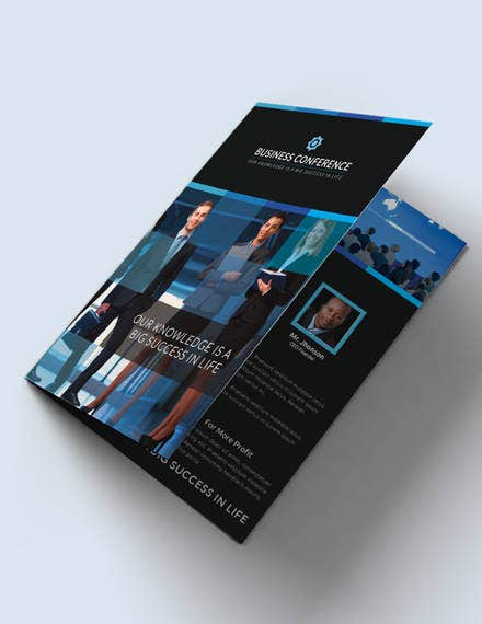 free-conference-bifold-brochure