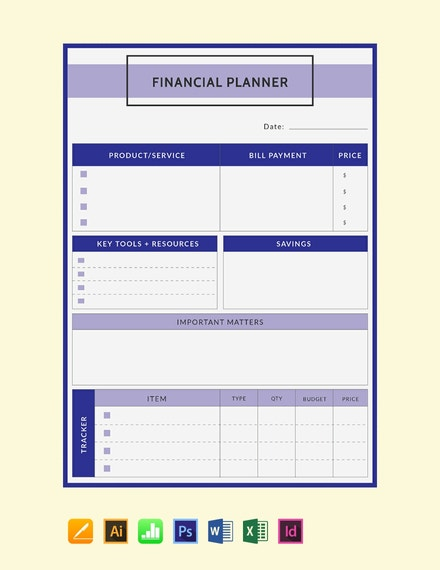 free financial planner template 440x570 1