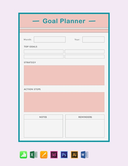 free goal planner template 440x570 1