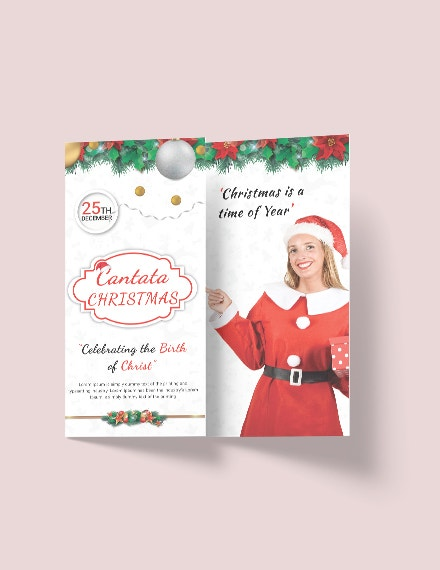 41  christmas brochures templates