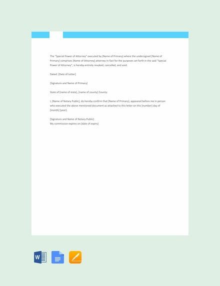 32 Notarized Letter Templates Pdf Doc Free Premium