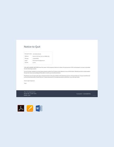 free-notice-to-quit