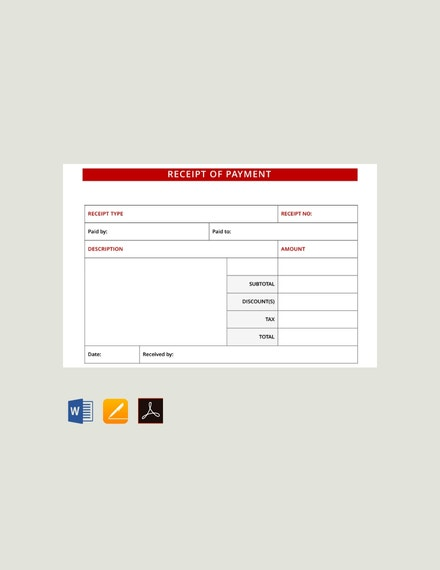 free payment receipt template 440x570 1