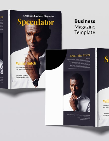 free photographer magazine template 1 1x