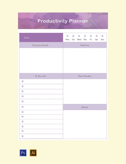 free productivity planner template 440x570 1