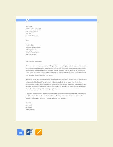 12+ Request Letter to a Principal Templates- PDF | Free