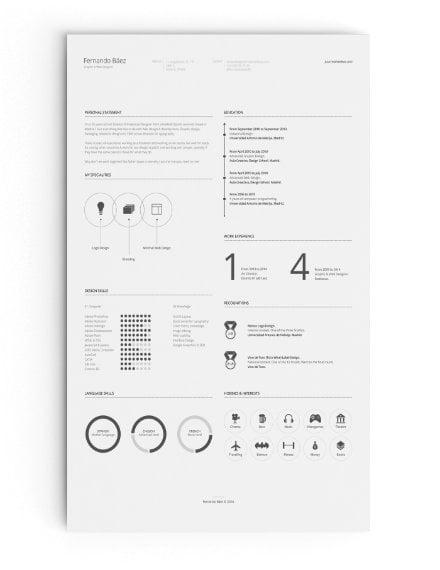 free resume template sample
