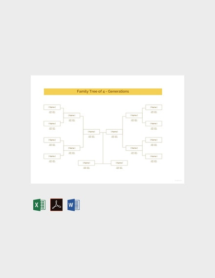 free sample family tree template 440x570 1