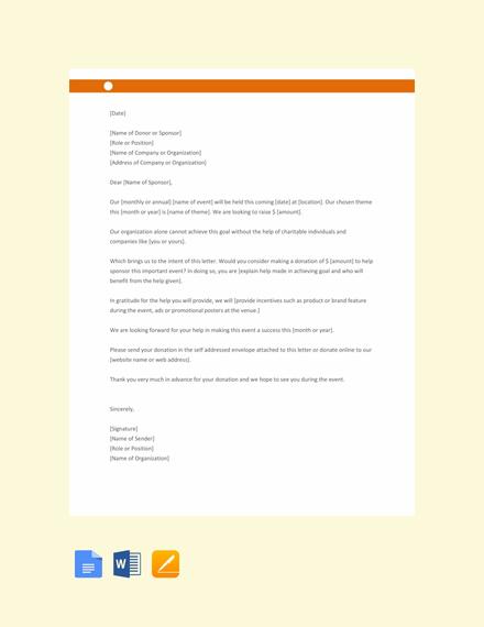 free sample sponsorship letter for donation 440x570 1