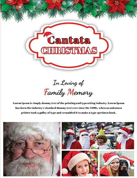 free simple christmas photo card