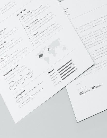 free simple resume template4