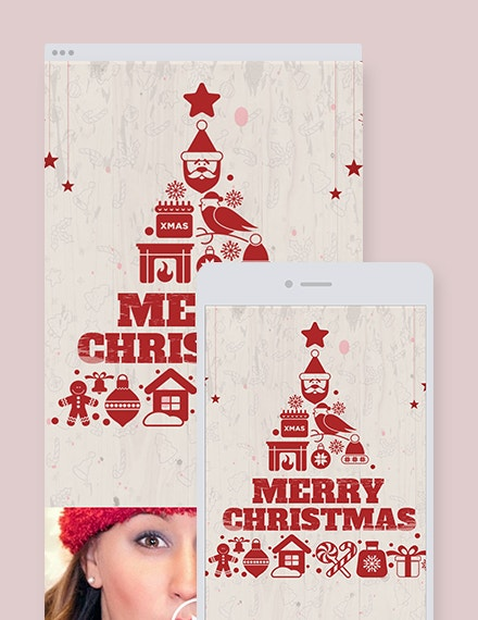 free vintage christmas email newsletter template