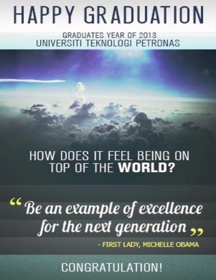 graduation mini poster sample