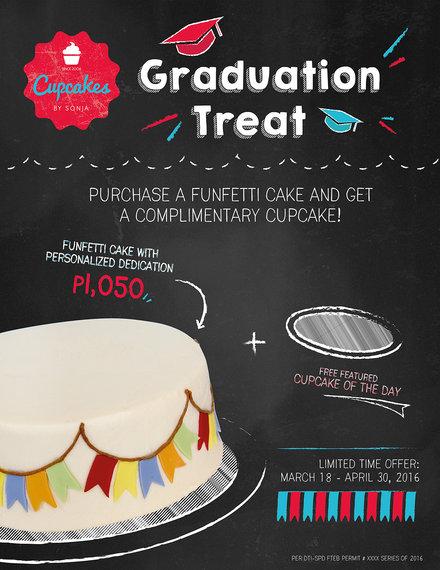 graduation treat poster example