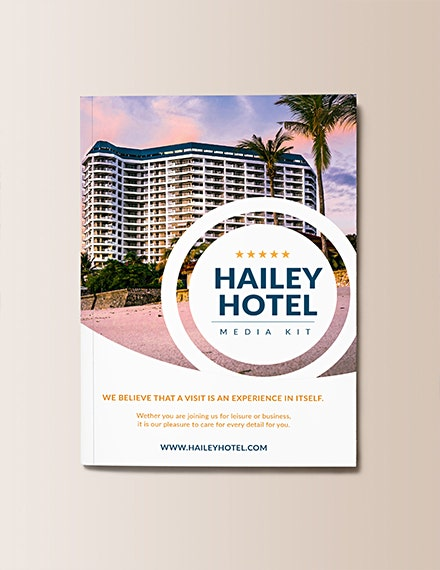 hotel media kit template