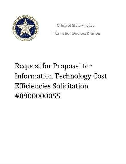it proposal for solicitation example