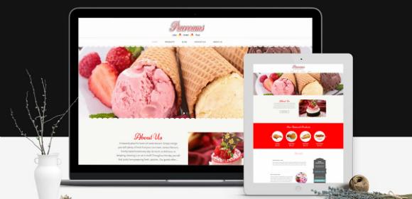 ice cream website