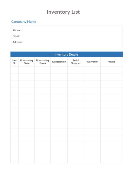 Inventory List1