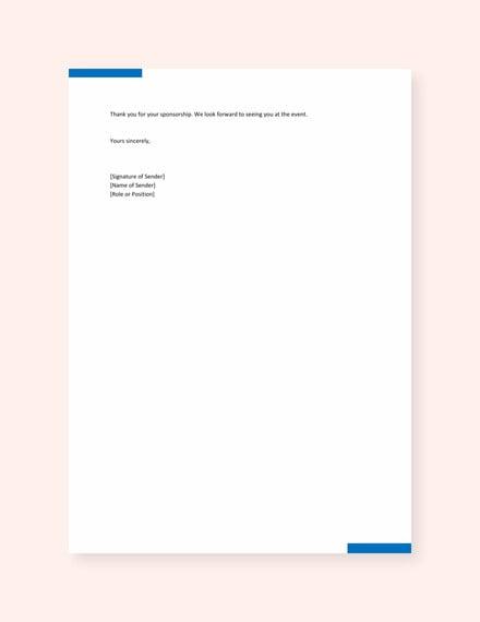 letter of sponsorship for student template