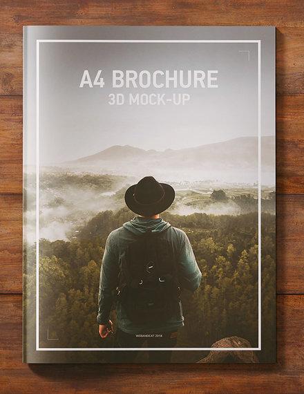 magazine brochure design example