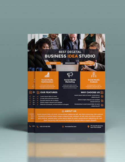 Marketing Business Flyer Design