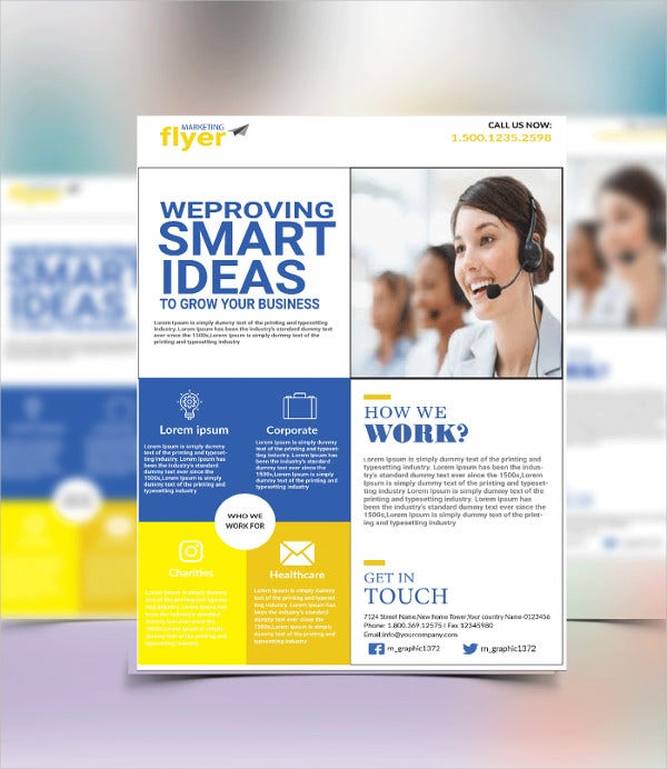 marketing-flyer-template