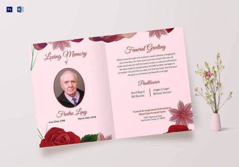memorable funeral greeting card psd template 788x552