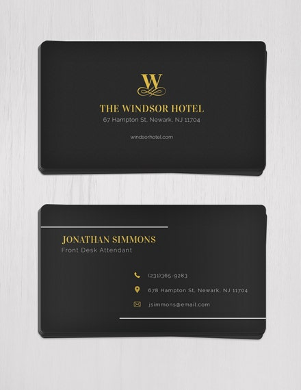 minimal business card template1