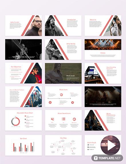 Music Powerpoint Presentation Template
