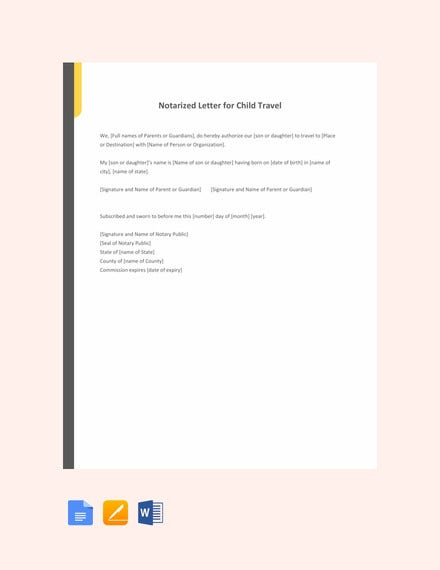 notarized letter of authorization template.html