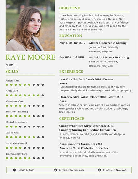 nursing resume template1