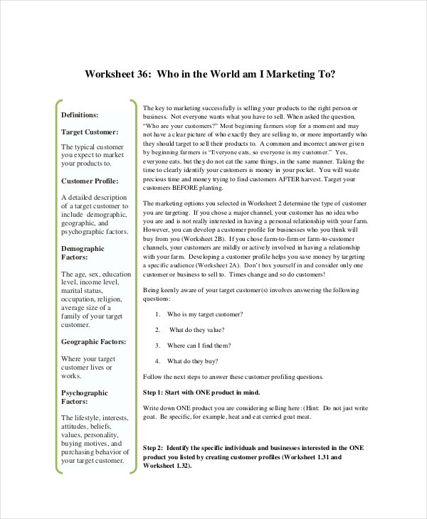 printable farm marketing plan