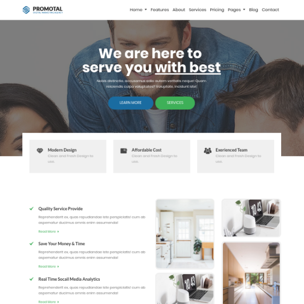 Promotal Digital Marketing Agency Website