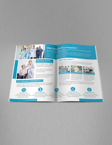 quality medical bifold brochure design