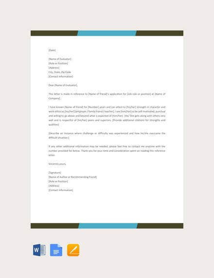 reference-letter-for-a-friend-template