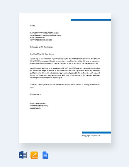 request for job appointment letter sample1