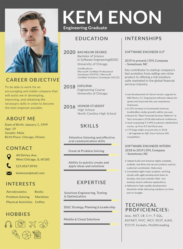 resume format for engineering freshers1